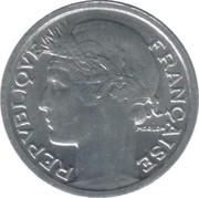 50 Centimes (light type) -  obverse
