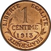 1 Centime (Third Republic) -  reverse