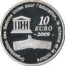 10 Euro (Moscow Kremlin) – reverse