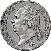 2 Francs - Louis XVIII – obverse