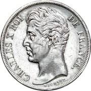 2 Francs - Charles X – obverse