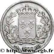 2 Francs - Charles X – reverse