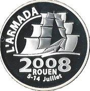1½ Euro (Rouen Armada) -  reverse