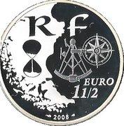 1½ Euro (Rouen Armada) -  obverse