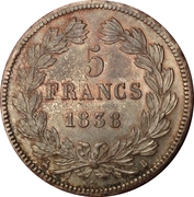 5 Francs - Louis-Philippe I -  obverse