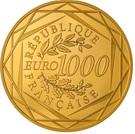 1000 Euro (Hercules) – reverse