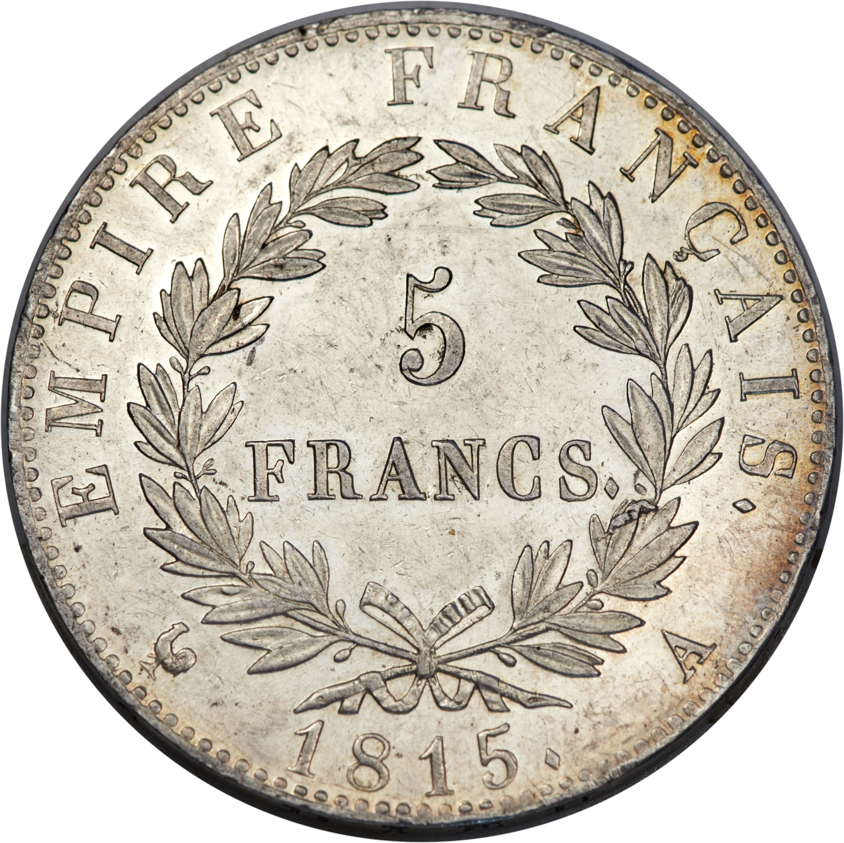5 francs napoleon i hundred days france numista. Black Bedroom Furniture Sets. Home Design Ideas