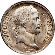 2 Francs - Napoleon I – obverse