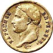 20 Francs - Napoleon I -  obverse