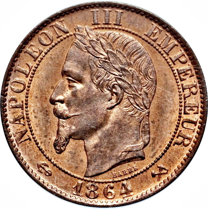 Centimes - Napoleon III - France - Numista