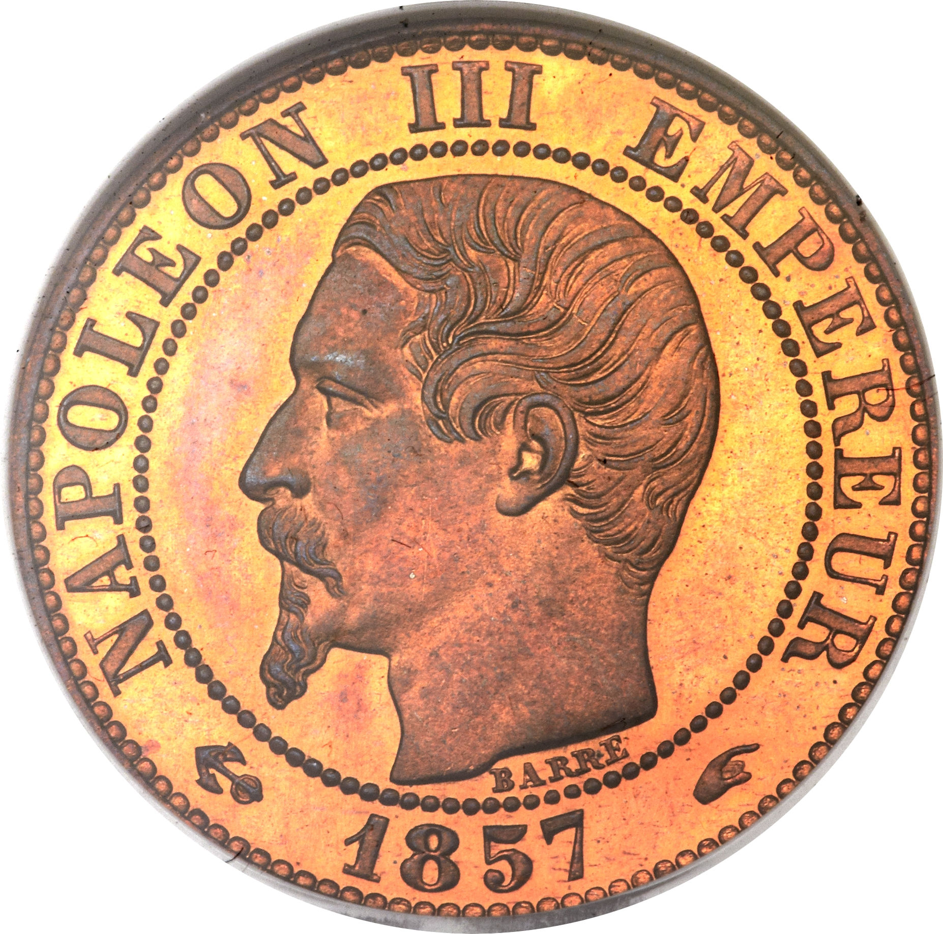 Centimes - Napoleon III - France – Numista