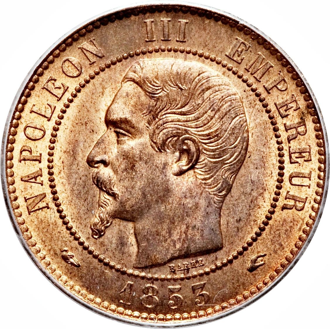 10 centimes napoleon iii france modern numista