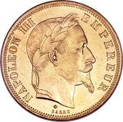 50 Francs - Napoleon III -  obverse