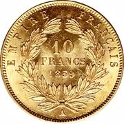10 Francs - Napoleon III -  obverse