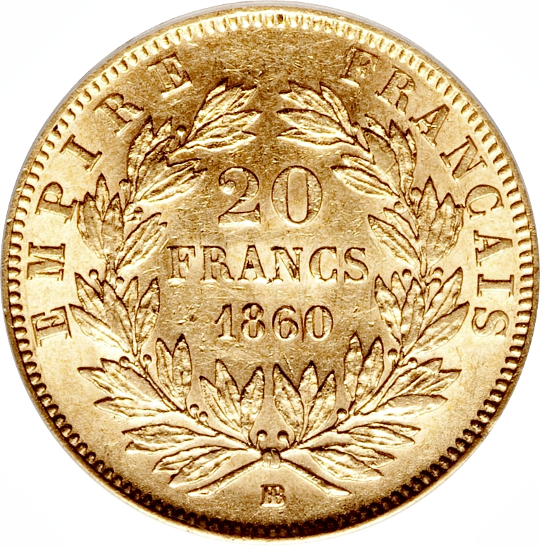 20 francs napoleon iii france numista for France francs