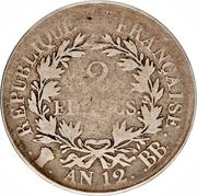 2 Francs - Napoleon I – reverse