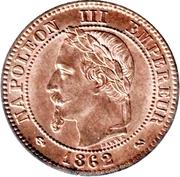 2 Centimes - Napoleon III -  obverse