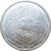5 Euro (Fraternité) -  reverse
