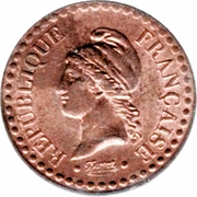 1 Centime (2nd Republic) -  obverse