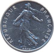"½ Franc (signature ""O. Roty"") -  obverse"