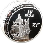 10 Euro (Jacques Cartier) -  obverse
