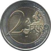 2 Euro (Speech of June 18th 1940) -  reverse