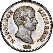 2 Francs - Napoléon I – obverse