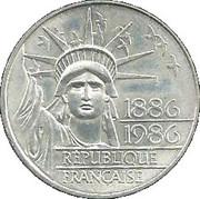 100 Francs (Statue of Liberty) -  obverse