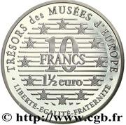 10 Francs (Dürer) -  reverse