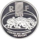 10 Francs (Rugby) – obverse
