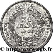 20 Francs (pattern of Catel) -  obverse