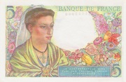 5 Francs (Berger) – reverse