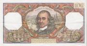 100 Francs (Corneille) – reverse