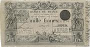 1000 Francs type 1842 Définitif – obverse
