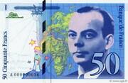 50 Francs (Saint-Exupéry) – obverse