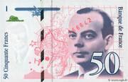 50 Francs (Saint-Exupéry, type 1992) -  obverse