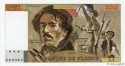 100 Francs (Delacroix) – obverse