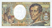 200 Francs - Montesquieu (type 1981 modifié) – obverse