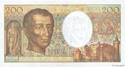 200 Francs - Montesquieu (type 1981 modifié) -  reverse