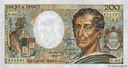 200 Francs - Montesquieu (type 1981, alphabets H.042, H.402, 101) – obverse