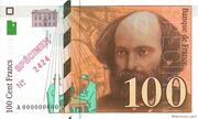 100 Francs Cézanne (type 1997) -  obverse