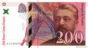 200 Francs (Eiffel, type 1995) – obverse