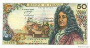 50 Francs (Racine, type 1962) – obverse