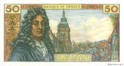 50 Francs (Racine, type 1962) – reverse