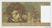 10 Francs (Berlioz, type 1972) -  reverse