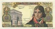 100 nouveaux Francs Bonaparte (type 1959) – obverse