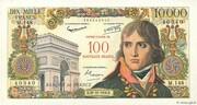100 NF sur 10000 Francs Bonaparte (type 1955) – obverse