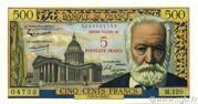 5 NF sur 500 francs Victor Hugo (type 1953) -  obverse