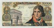 10000 francs Bonaparte (type 1955) – obverse
