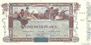 5000 Francs (Flameng, type 1918) -  obverse